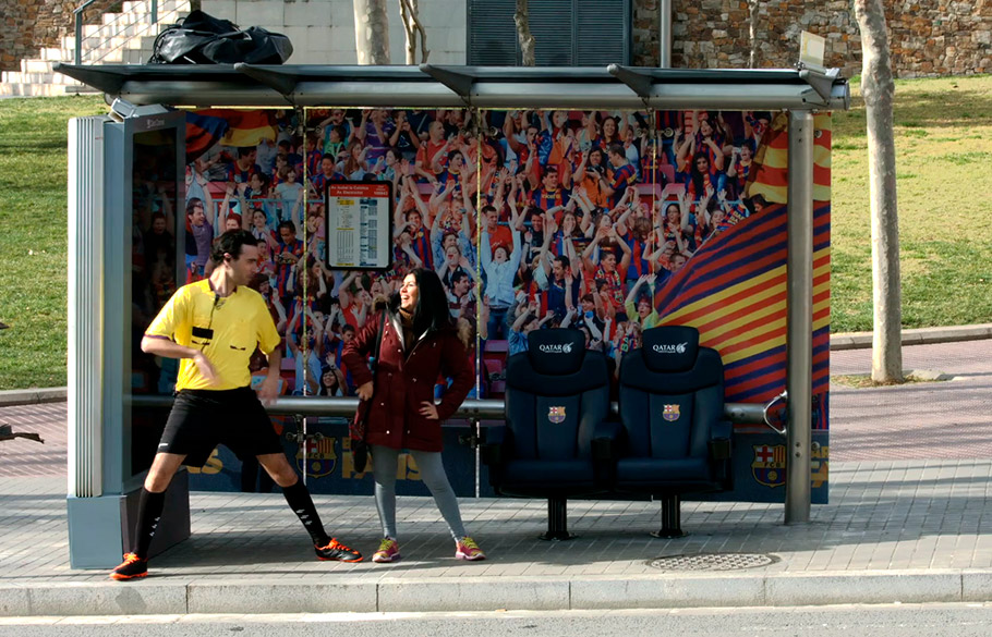 Barça Fans. Mupi - FC Barcelona - Aftershare - WE ARE CP -