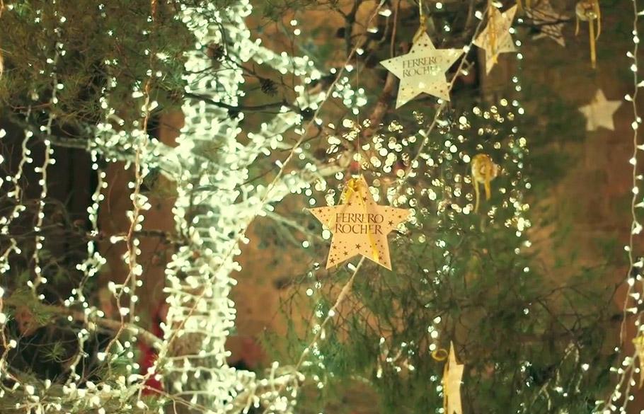 Ilumina la Navidad en Valderrobres - Ferrero Rocher - Pavlov - WE ARE CP -